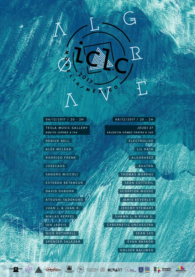 ICLC 2017 algorave line-up